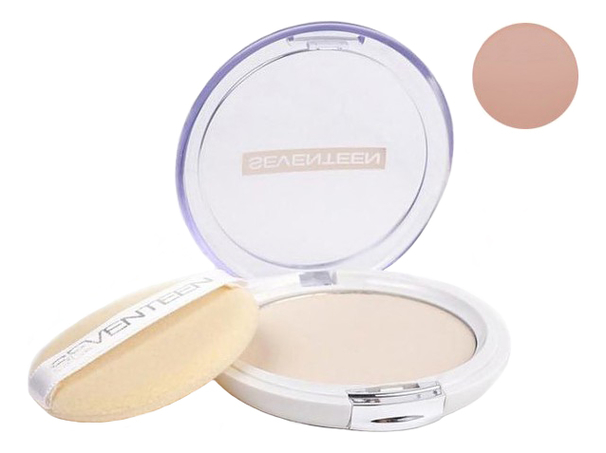 Компактная пудра для лица Natural Silky Transparent Compact Powder SPF15 10г: 5 Honey