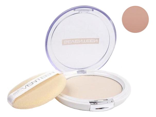 Компактная пудра для лица Natural Silky Transparent Compact Powder SPF15 10г: 6 Caramel компактная шелковая пудра для лица natural glow silky powder seventeen лицо