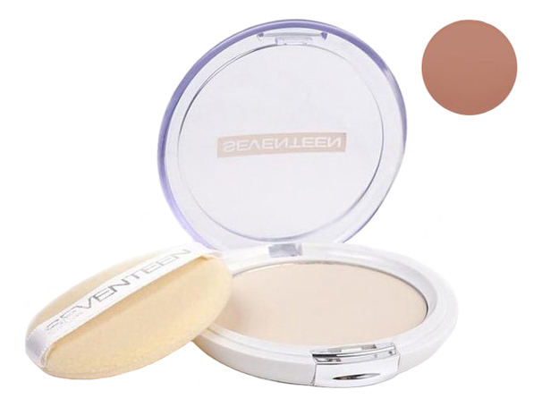 Компактная пудра для лица Natural Silky Transparent Compact Powder SPF15 10г: 8 Dark Caramel цена 2017