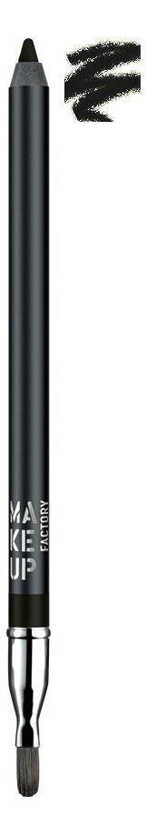 Купить Устойчивый водостойкий карандаш для глаз Smoky Liner Long-Lasting & Waterproof 2г: 01 Deep Black, Устойчивый водостойкий карандаш для глаз Smoky Liner Long-Lasting & Waterproof 2г, MAKE UP FACTORY
