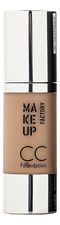 MAKE UP FACTORY CC крем Foundation SPF10 30мл
