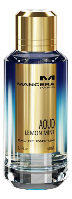 Mancera Aoud Lemon Mint: парфюмерная вода 8мл mancera intensitive aoud gold парфюмерная вода 8мл