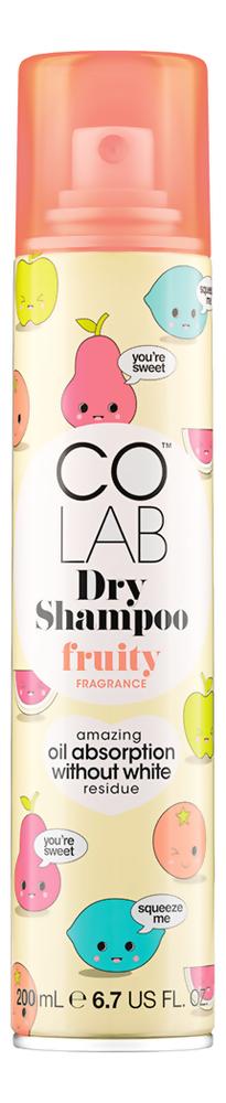 Сухой шампунь для волос прозрачный Fruity 200мл (фруктовый аромат)