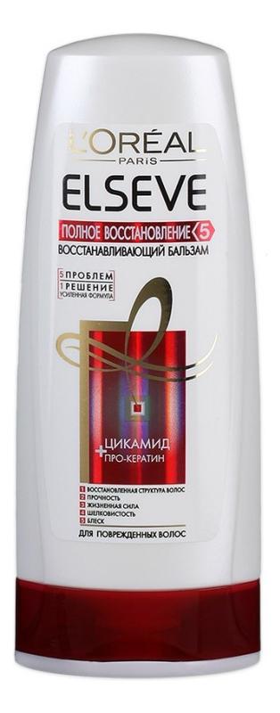Купить Восстанавливающий бальзам для волос Полное Восстановление 5 ELSEVE 200мл: Бальзам 200мл, L'oreal