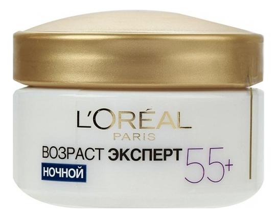 Купить Ночной восстанавливающий крем Возраст Эксперт 55+ 50мл, L'oreal