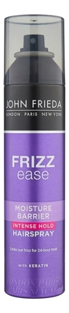 Фото - Лак для волос сверхсильной фиксации Frizz Ease Moisture Barrier Hair Spray 250мл hair company фиксирующий лак придающий блеск сверхсильной фиксации illuminating extreme spray 500 мл