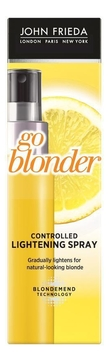 Осветляющий спрей для волос Sheer Blonde Go Blonder Controlled Lightening Spray 100мл