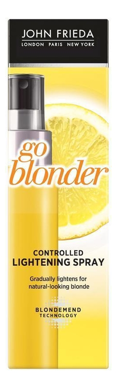 Купить Осветляющий спрей для волос Sheer Blonde Go Blonder Controlled Lightening Spray 100мл, JOHN FRIEDA