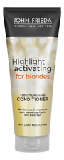 JOHN FRIEDA Кондиционер для светлых волос Sheer Blonde Highlight Activating Moisturising Conditioner 250мл
