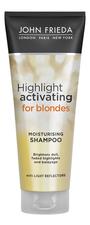 JOHN FRIEDA Шампунь для светлых волос Sheer Blonde Highlight Activating Moisturising Shampoo 250мл