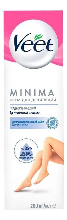 Купить Крем для депиляции для чувствительной кожи 200мл, Veet