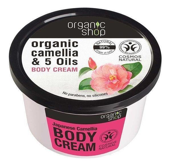 Крем для тела Японская камелия Organic Camellia & Oils Body Cream 250мл