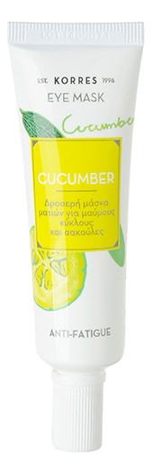 Маска для кожи вокруг глаз Eye Mask Cucumber Anti-Fatigue 8мл