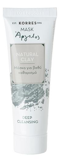 Маска для глубокого очищения кожи лица с экстрактом натуральной глины Natural Clay Deep Cleansing 18мл engrained engrained deep rooted