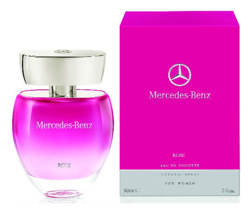 Mercedes-Benz Rose: туалетная вода 90мл