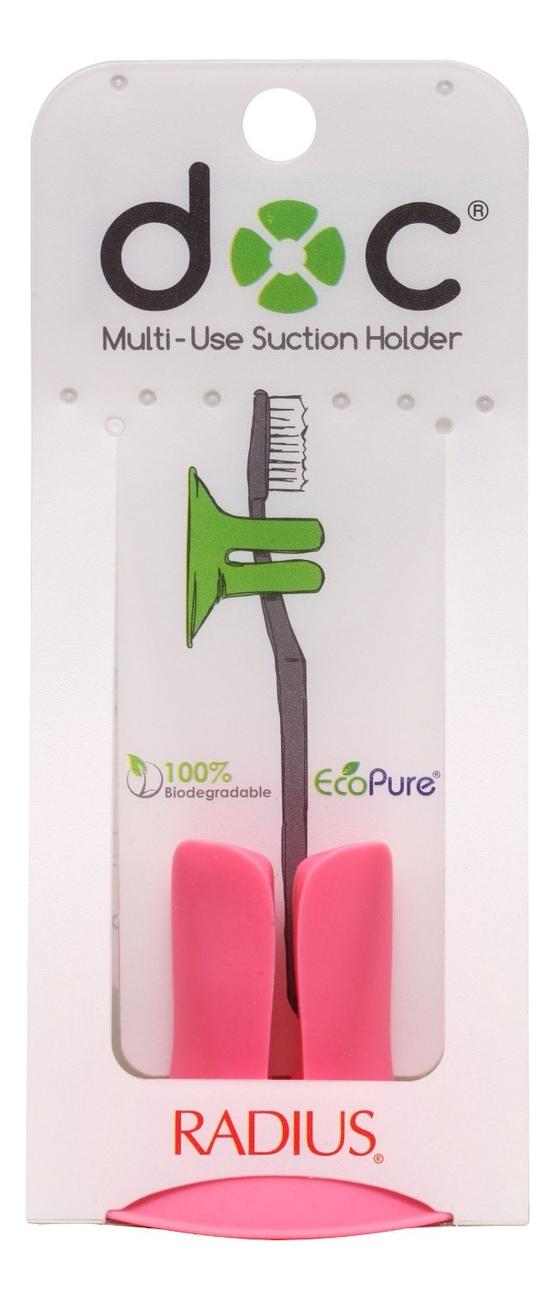 Подставка для зубных щеток Multi-Use Suction Holder (оранжевая)