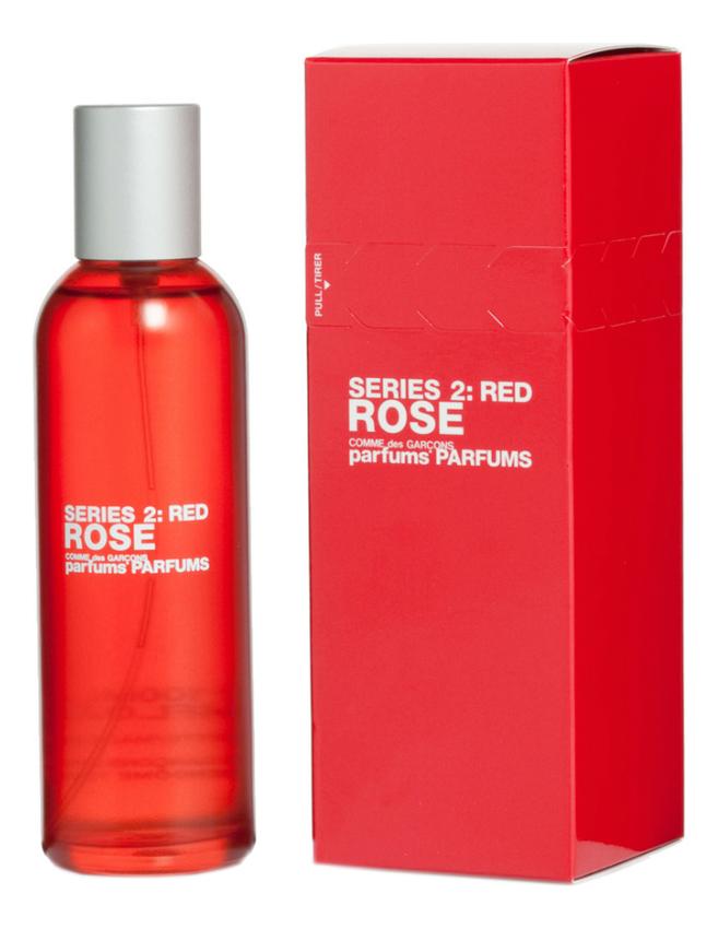 цена Comme des Garcons Series 2 Red: Rose: туалетная вода 100мл онлайн в 2017 году