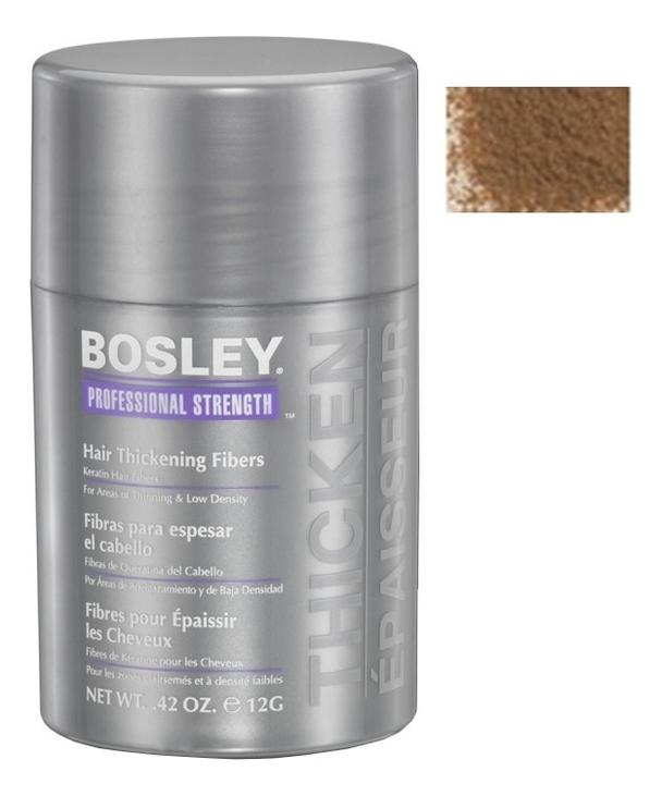 Кератиновые волокна Hair Thickening Fibers 12г: Светло-коричневые
