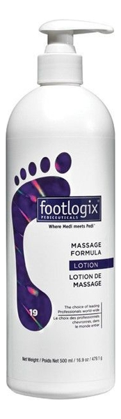 Лосьон массажный для ног Massage Formula Dermal Infusion Technology: Лоьон 500мл мусс очищающий для ног peeling skin formula dermal infusion technology 119 9мл