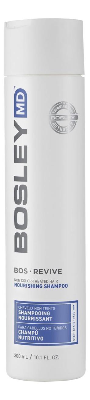 Купить Шампунь для истонченных неокрашенных волос Bos Revive Non Color Treated Hair Nourishing Shampoo: Шампунь 300мл, Bosley