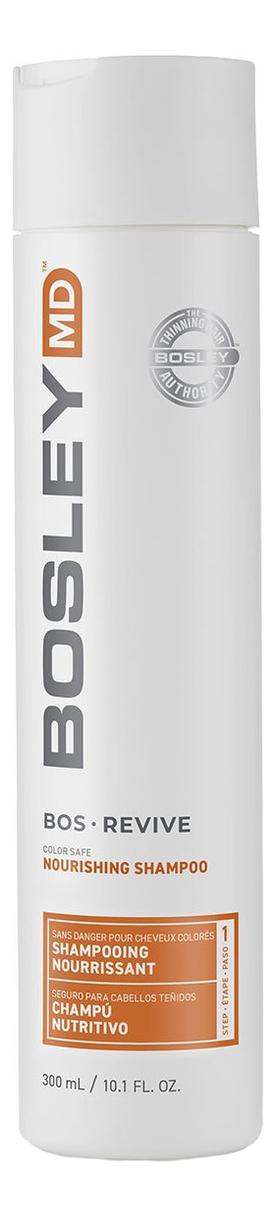 Шампунь для истонченных окрашенных волос Bos Revive Nourishing Shampoo Visibly Thinning Color-Treated Hair: Шампунь 300мл фото