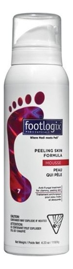 Мусс очищающий для ног Peeling Skin Formula Dermal Infusion Technology 119,9мл мусс очищающий для ног peeling skin formula dermal infusion technology 119 9мл