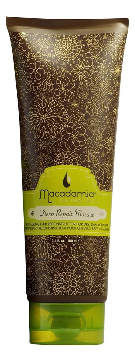 Маска для волос с маслом арганы и макадамии восстанавливающая Deep Repair Masque: 100мл