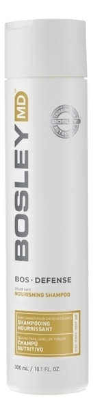 Купить Шампунь для нормальных и тонких окрашенных волос Bos Defense Nourishing Shampoo Normal To Fine Color-Treated Hair: Шампунь 300мл, Bosley