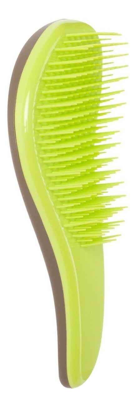 Расческа для распутывания волос Professional No Tangle Brush Green