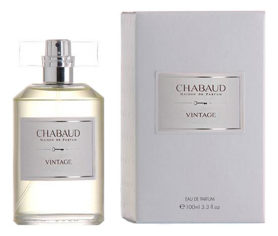 Chabaud Maison de Parfum Vintage: парфюмерная вода 100мл chabaud maison de parfum nectar de fleurs парфюмерная вода 100мл
