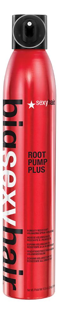 Мусс-спрей для объема влагостойкий Big Root Pump Plus Humidity Resistant Volumizing Spray Mousse 300мл