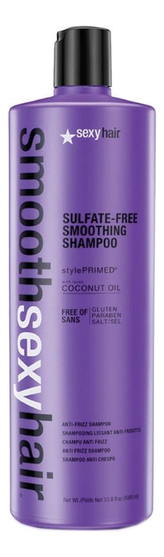 Шампунь разглаживающий без сульфатов Smooth Sulfate-Free Smoothing Shampoo: Шампунь 1000мл kevin murphy шампунь smooth