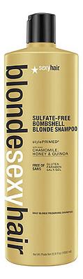 Шампунь для сохранения цвета без сульфатов Blonde Sulfate-Free Bombshell Shampoo: 1000мл