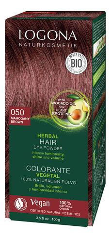 Растительная краска для волос Herbal Hair Colour 050 Mahogany 100мл