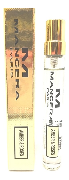 Купить Amber & Roses: парфюмерная вода 8мл, Amber & Roses, Mancera