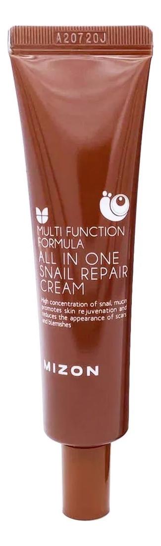 Крем для лица с муцином улитки 92% Multi Function Formula All In One Snail Repair Cream 35мл