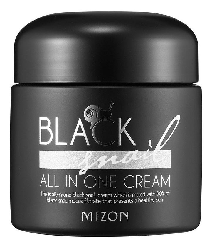 Крем для лица с экстрактом черной улитки 90% Black Snail All In One Cream 75мл: 75мл