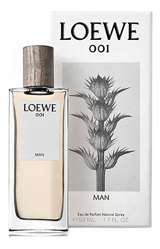 Купить 001 Man: парфюмерная вода 50мл, Loewe