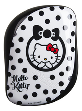 Tangle Teezer Расческа для волос Compact Styler Hello Kitty Black & White