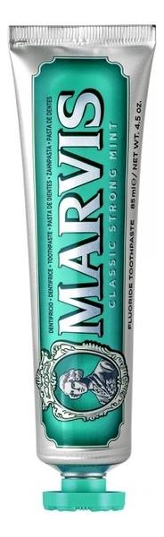 Купить Зубная паста Классическая насыщенная мята Classic Strong Mint 85мл: Зубная паста 85мл, MARVIS