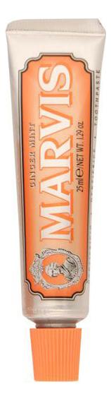 Купить Зубная паста Мята и имбирь Ginger Mint: Зубная паста 25мл, MARVIS