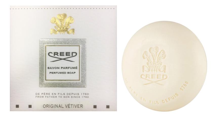 Original Vetiver: мыло 150г creed original vetiver эмульсия после бритья 75мл