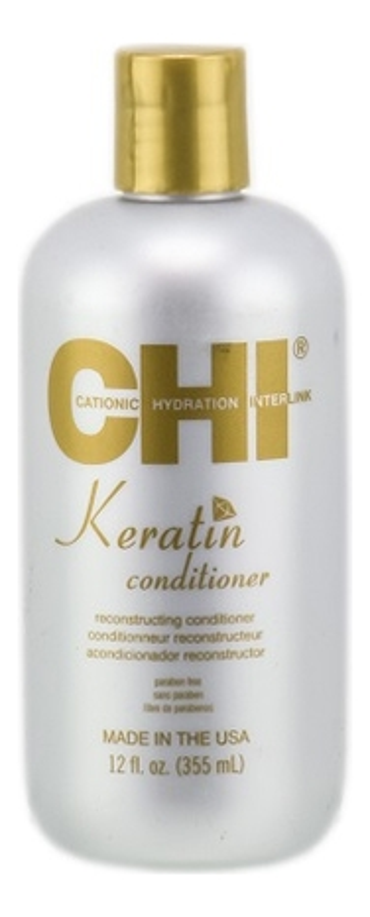 chi keratin reconstructing conditioner Кератиновый кондиционер для волос Keratin Conditioner 355мл: Кондиционер 355мл