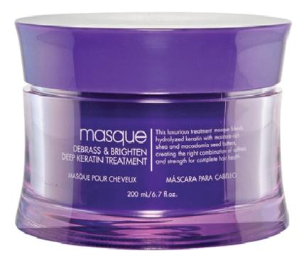 Маска с кератином для осветленных и седых волос Blondeshell Masque Deep Keratin Treatment 200мл
