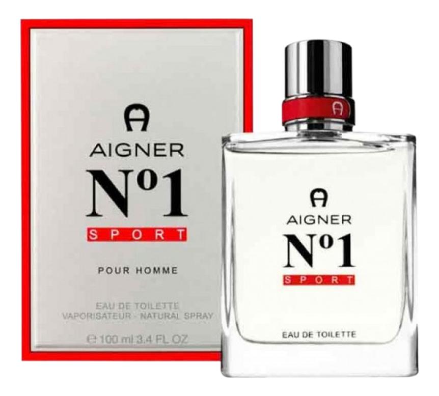 Aigner No1 Sport: туалетная вода 100мл недорого
