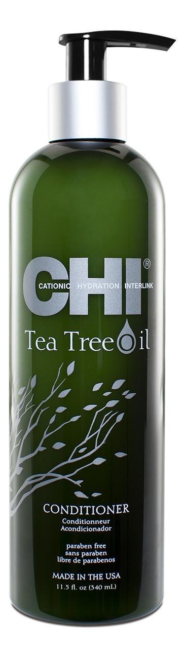 Фото - Кондиционер для волос с маслом чайного дерева Tea Tree Oil Conditioner: Кондиционер 340мл гель смазка sico tea tree oil с маслом чайного дерева 100 мл