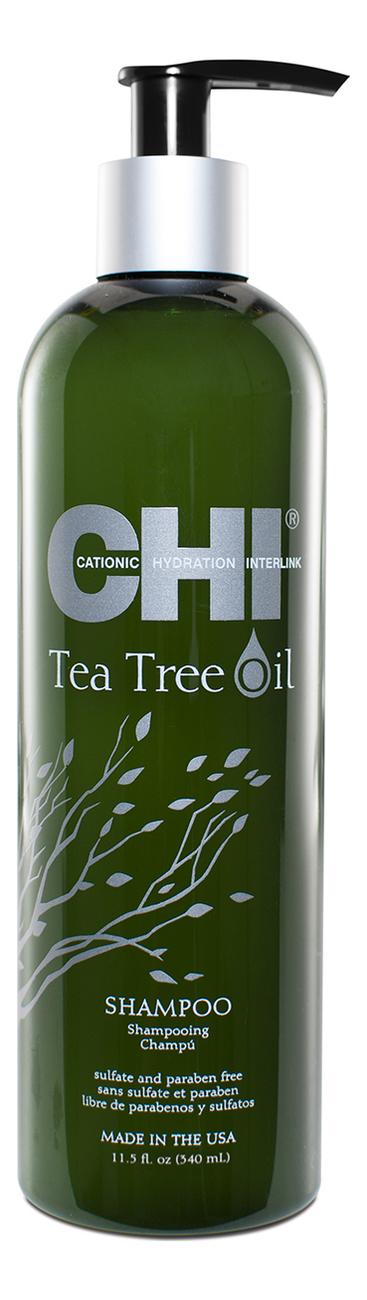 Фото - Шампунь для волос с маслом чайного дерева Tea Tree Oil Shampoo: Шампунь 340мл гель смазка sico tea tree oil с маслом чайного дерева 100 мл
