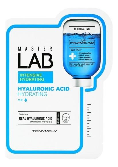 Фото - Тканевая маска для лица с гиалуроновой кислотой Master Lab Hyaluronic Acid Mask 19г tony moly тканевая маска master lab snail mucin 19 г