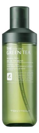 Купить Тонер для лица с экстрактом зеленого чая The Chok Chok Green Tea Watery Skin 180мл, Tony Moly