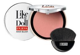 Румяна компактные Like A Doll Maxi Blush 9,5г: 101 Sweet Pink
